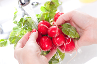 Wash your vegetables and fruits with ionized water to keep the goodness and flavors better